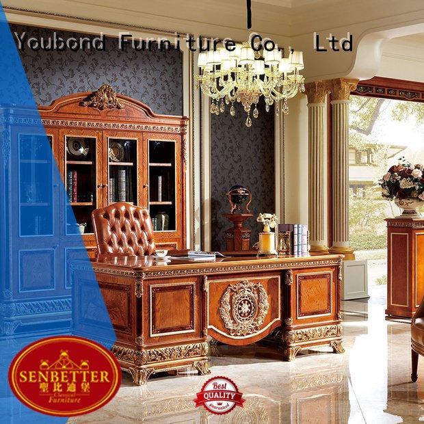 mahogany office OEM classic office furniture