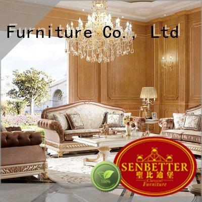 Wholesale lifestyle white living room furniture Senbetter Brand