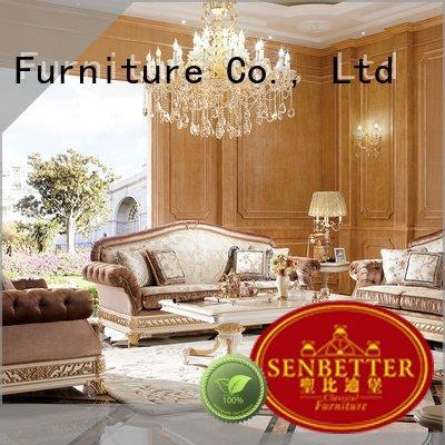 Wholesale lifestyle white living room furniture Senbetter Brand