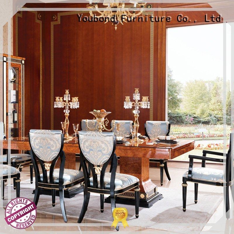 modern solid wood dining table sets with wooden table for collection