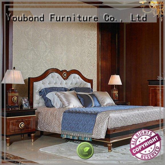 classic style bedroom solid wood bedroom furniture Senbetter oak bedroom furniture