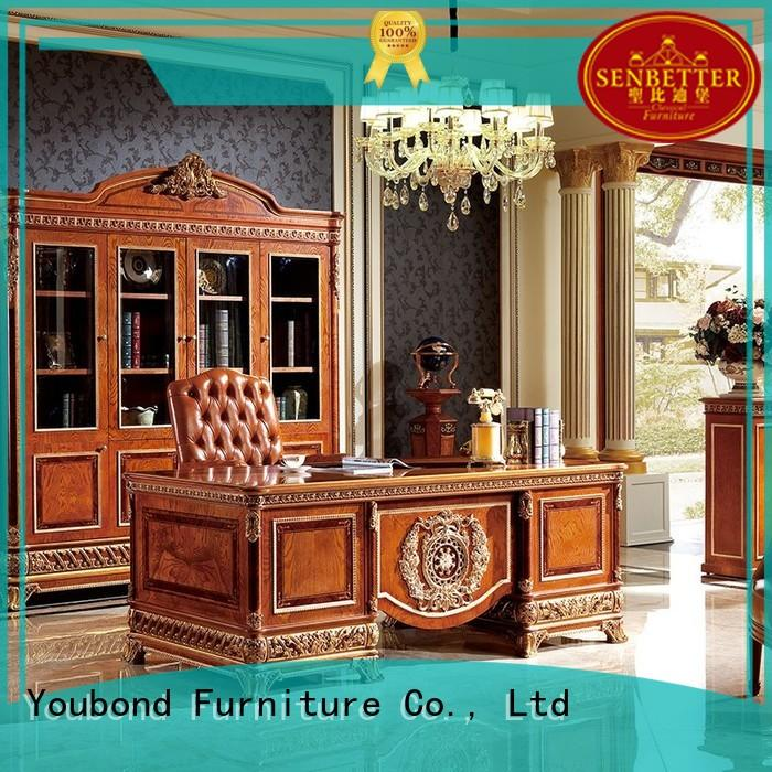 Senbetter wooden professional office furniture office table for hotel