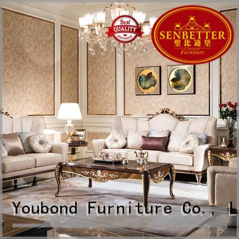 living classic white living room furniture Senbetter manufacture