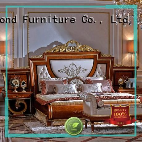 Senbetter best white traditional bedroom furniture with solid wood table and chairs for decoration
