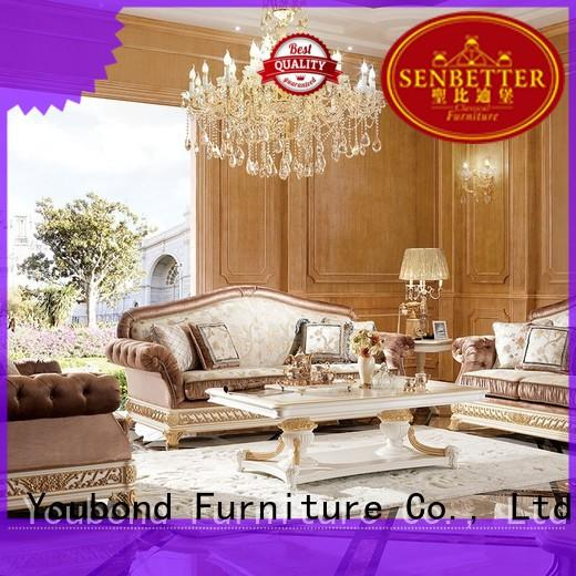 Senbetter good quality living room furniture manufacturers for villa