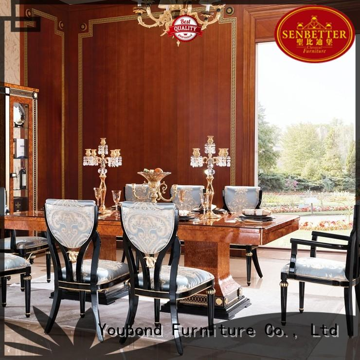 classic solid dinette sets home spanish Senbetter Brand