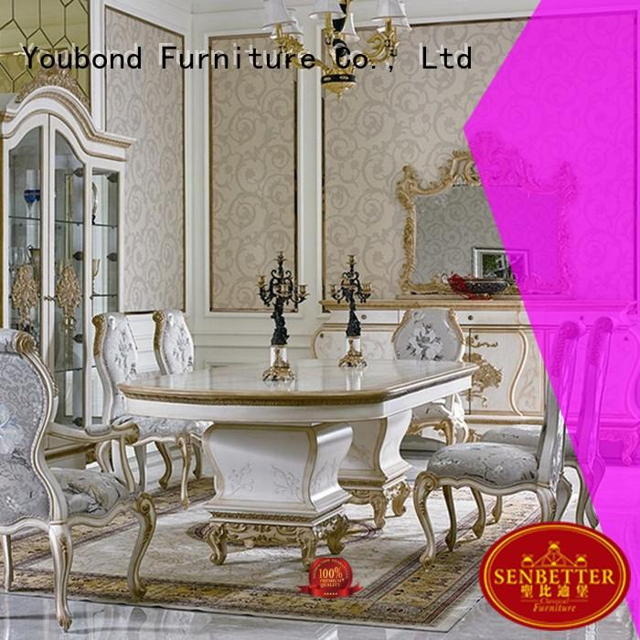 dinning solid classic dining room furniture royal Senbetter Brand company