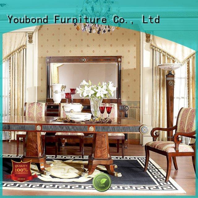 Senbetter classic dining room furniture solid spanish classic furniture