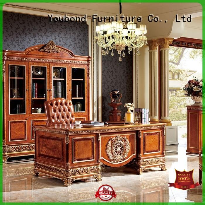 Hot wood classic office furniture french office Senbetter Brand
