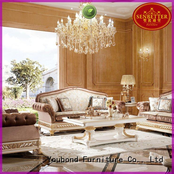 Senbetter delicate classic living room furniture living baroque