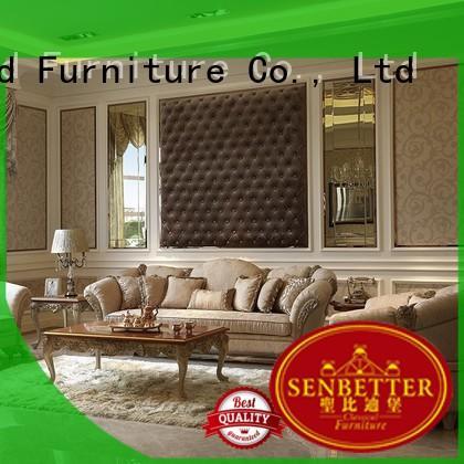 room italian Wholesale design palace classic living room furniture Senbetter Brand style living