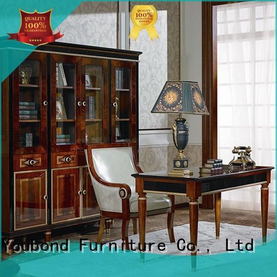 Senbetter classic office accessories with bookcase for villa