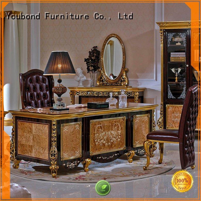 gold design veneer Senbetter desk furniture
