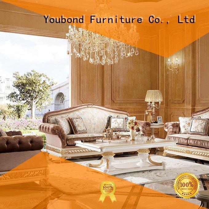 Senbetter white living room furniture flower italian room white
