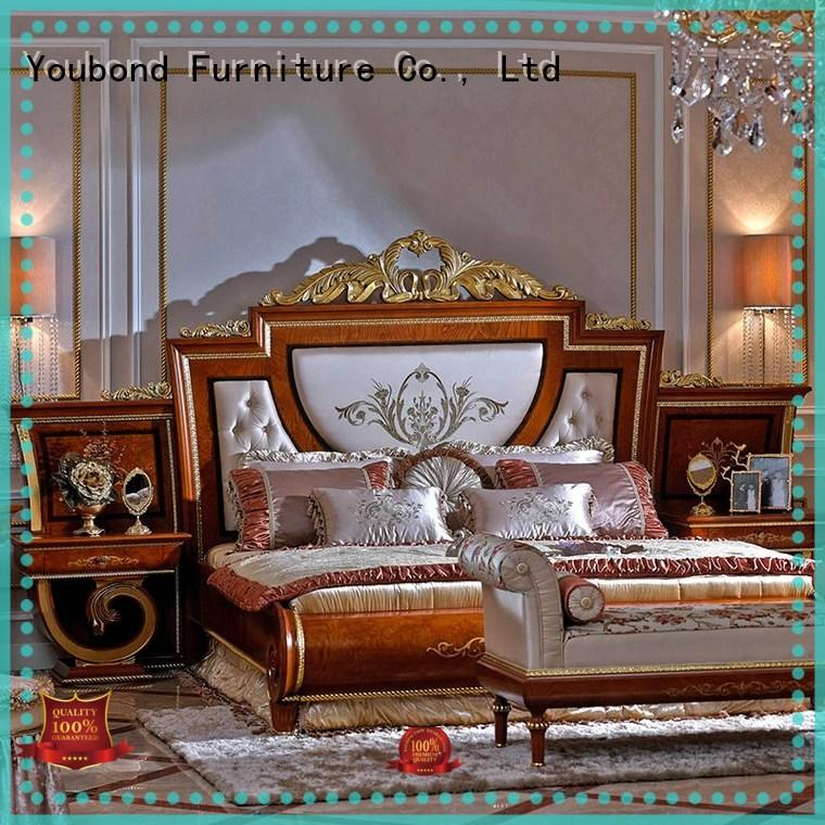 Senbetter black walnut bedroom furniture bed for sale