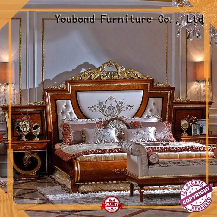 Senbetter neo classic italian bedroom furniture with white rim for decoration
