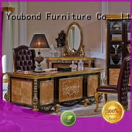 office table real wood office furniture with office writing desk for company Senbetter