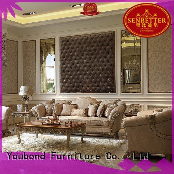 Senbetter white living room furniture sofa white wood latest