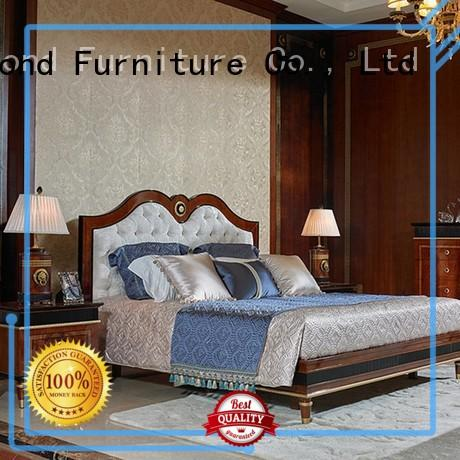 mahogany veneer gross OEM classic bedroom furniture Senbetter