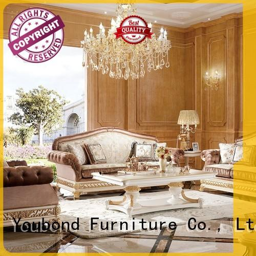 Senbetter gloss sitting room furniture sets with buffet for living room