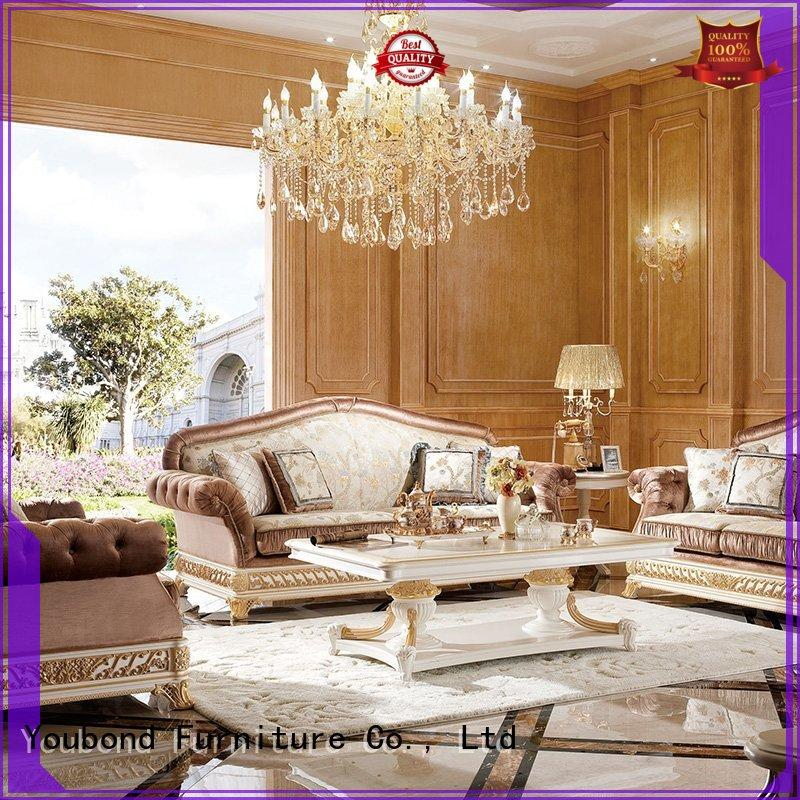 Senbetter elegant style luxury living room furniture with buffet for home