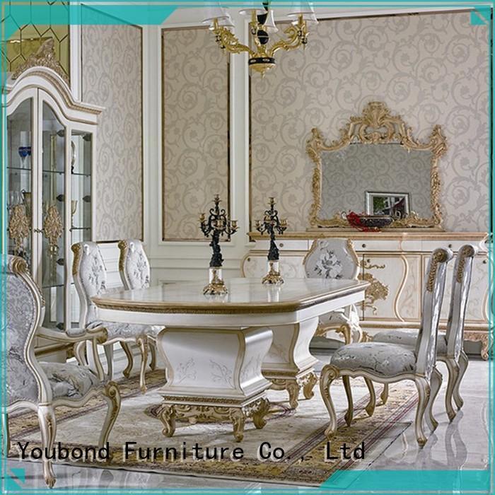 Senbetter black dining furniture supply for villa