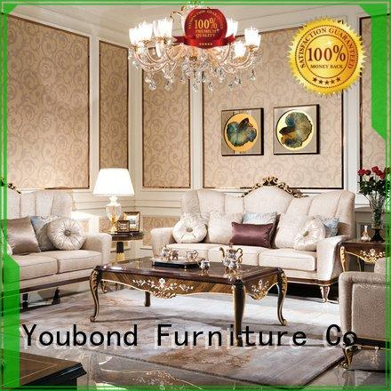 Custom classic living room furniture palace carving
