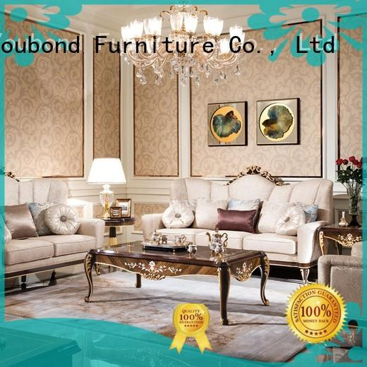 classical quality living room furniture with long dining table for hotel