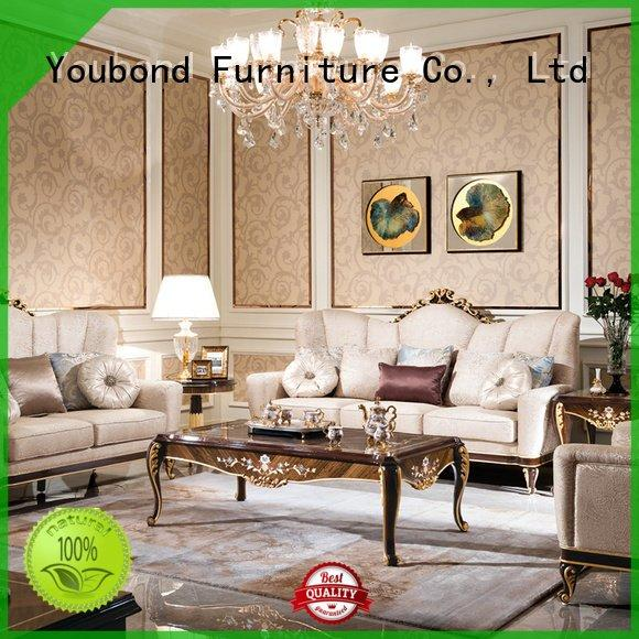 luxury style baroque 0066 Senbetter white living room furniture
