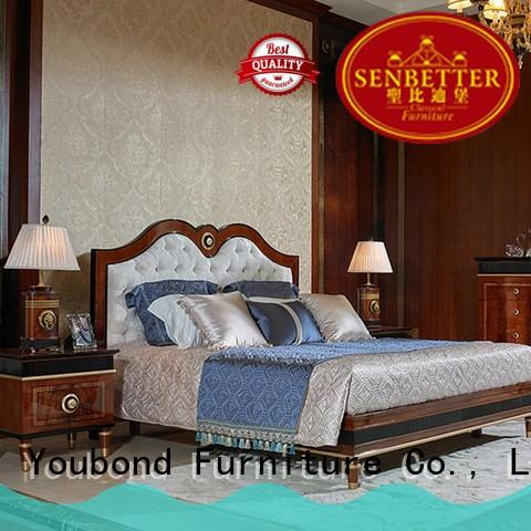 veneerantique bedroom furniture with solid wood table and chairs for sale