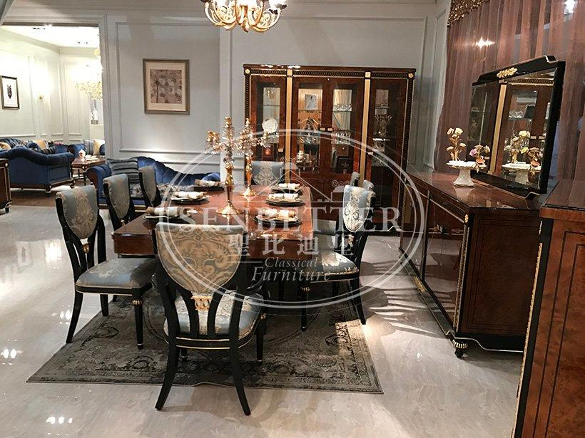 Senbetter lexington dining room furniture with buffet for villa-3