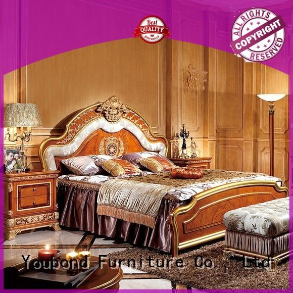 Senbetter dresser natural wood bedroom furniture with solid wood table and chairs for decoration