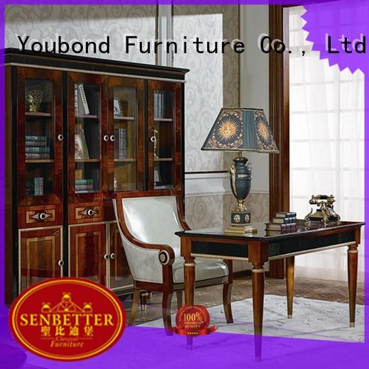 Hot desk classic office furniture carved antique Senbetter Brand