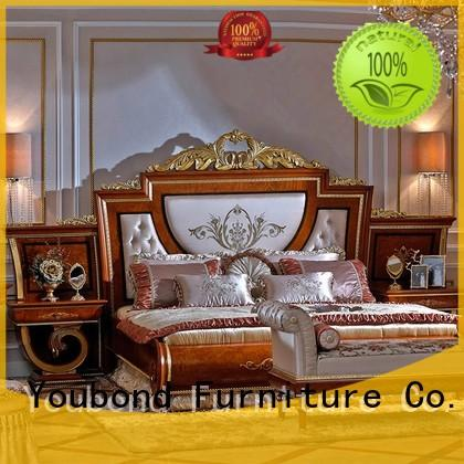 solid mahogany classic bedroom furniture bedroom Senbetter company