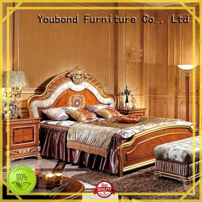 Senbetter italian style traditional bedroom designs with white rim for sale