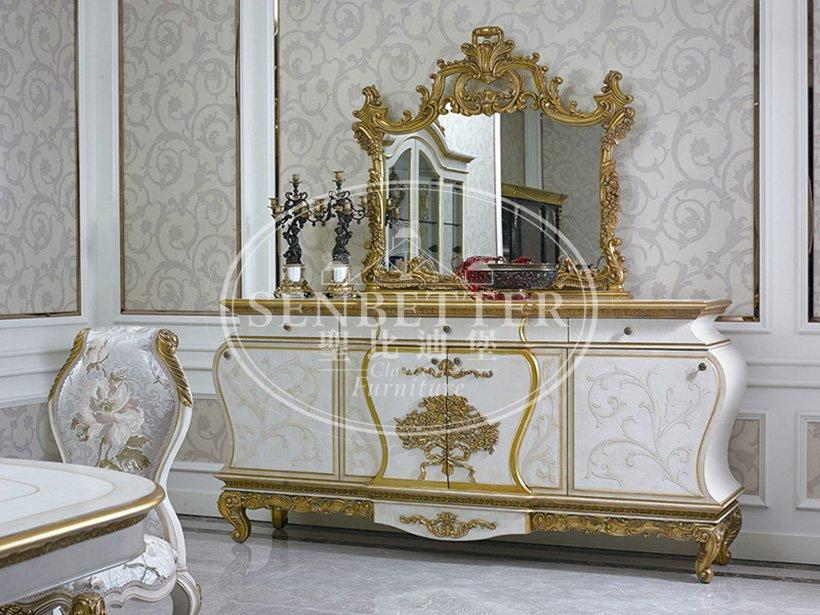 italian italian furniture dining table with buffet for hotel-1