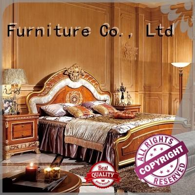 black classic bedroom furniture with chinese element for sale