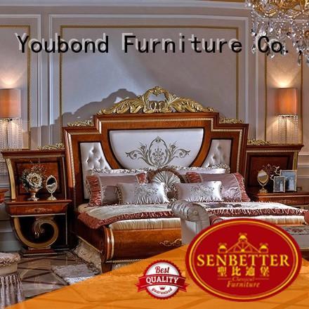 oak bedroom furniture wood beech veneer classic bedroom furniture manufacture