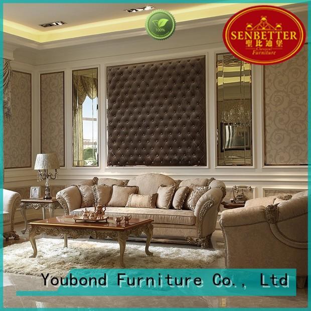 Custom lifestyle palace classic living room furniture Senbetter room