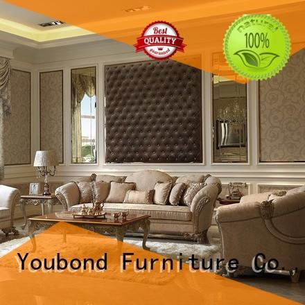 elegant style wood living room furniture with buffet for living room
