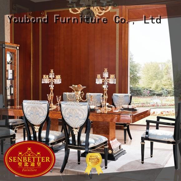 Senbetter elegant wood dining room sets manufacturer for home