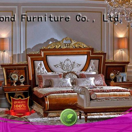 style beech OEM solid wood bedroom furniture