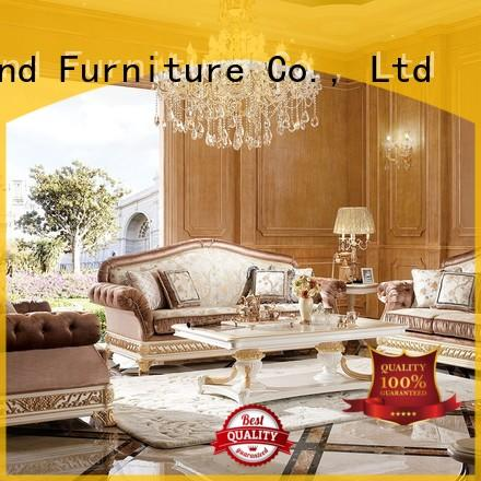 Senbetter luxury living room furniture sets with fabric or leather sofa for home