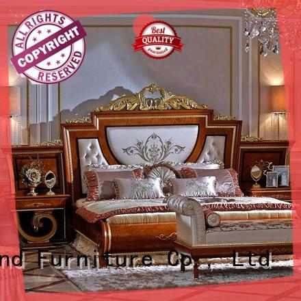 high end italian bedroom furniture with solid wood table and chairs for royal home and villa