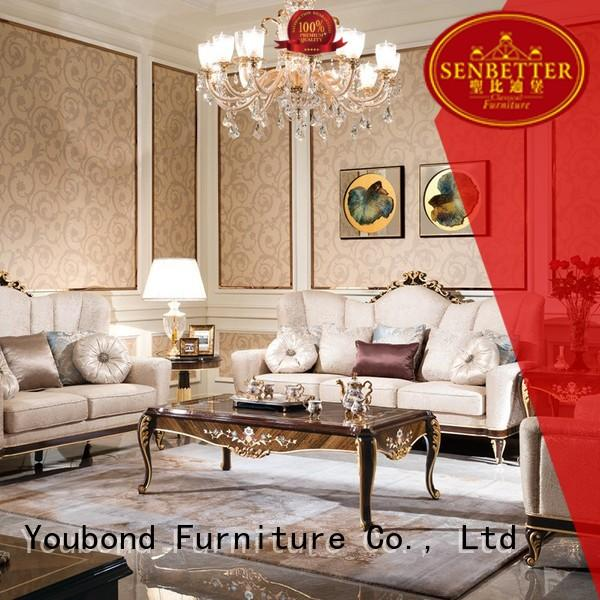 Hot classic white living room furniture vintage Senbetter Brand