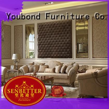 classic home furniture living room with mirror of buffet for home