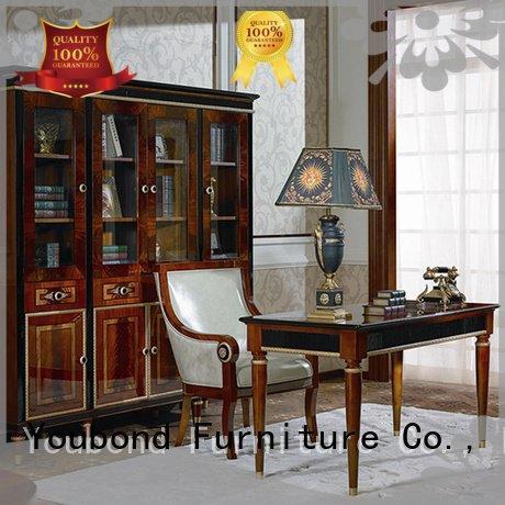 desk furniture veneer louis OEM classic office furniture Senbetter
