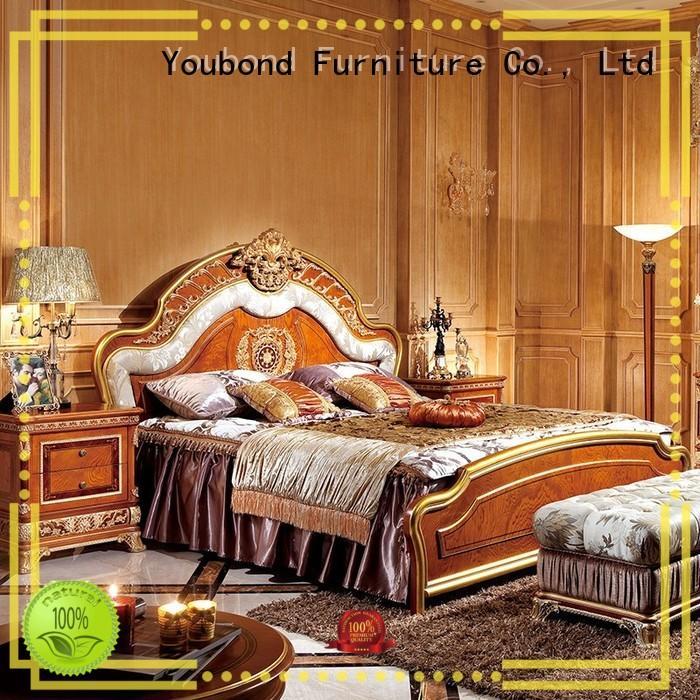 Senbetter Brand gross style solid oak bedroom furniture classic