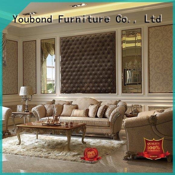 latest living luxury Senbetter white living room furniture
