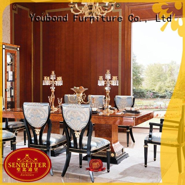 Wholesale dinning set classic dining room furniture Senbetter Brand